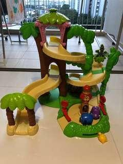 Fisher Price Jungle Junction Roadway Playset