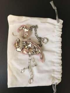 Anteprima Flamingo Keychain
