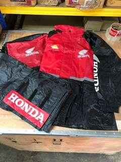 HONDA Raincoat Jacket