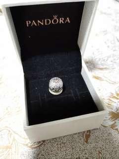 Pandora Black Friday Snow Globe Charm