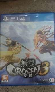 PS4 大蛇無雙3 (無code)
