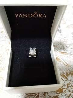 Pandora Frog Charm