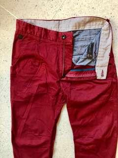 Zara red size 31