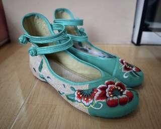 NEW Sepatu Dansa Oriental Chinese