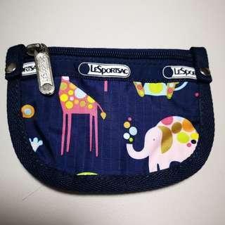 LESPORTSAC 動物樂園 零錢包/鑰匙圈包