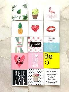 🚚 INSTOCKS Mini Greetings Card