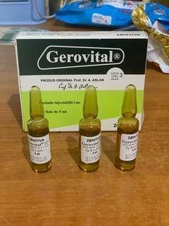 READY STOCK OBAT SUNTIK GEROVITAL