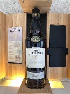 The Glenlivet XXV  25 Years Old  單一麥芽威士威士忌  43%abv