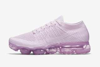 Nike Air Vapormax Flyknit light violet & white US 8