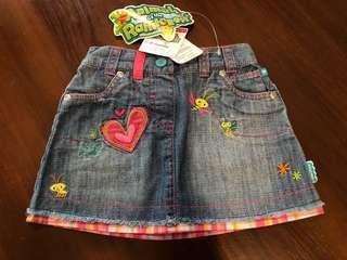 Fisher Price Denim Skirt with Embroidery