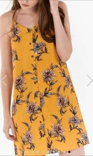 SANNA FLORAL PRINTED SLIP DRESS