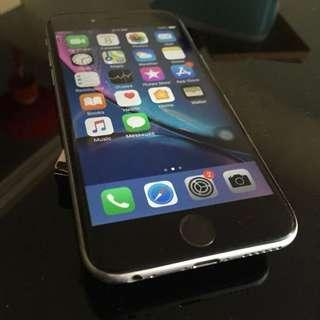 Original Iphone 6 128gb Space Grey Tip Top