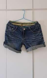 牛仔短褲 Denim shorts