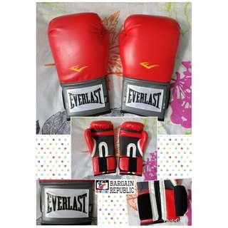Everlast Ever Fresh Training Gloves Red 14oz