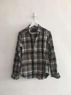 🚚 Ralph Lauren Checkered Flannel Plaid Top