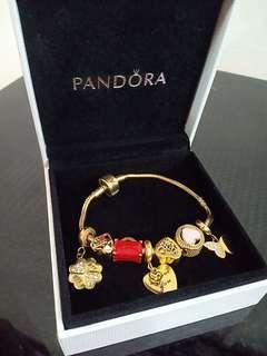 Pandora with 7 charms
