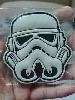 Storm Trooper Glow in the Dark Velcro Patch