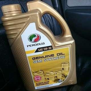 perodua gold 5w30