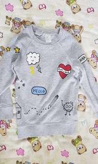 🚚 H&M pullover 18-24 months