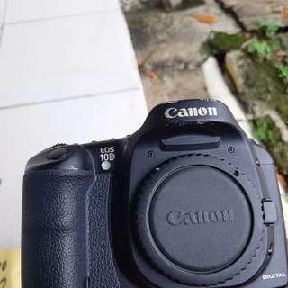 Camera canon 10d body only