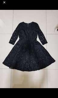 Doublewoot Black Flare Dress