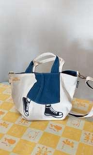 Mis Zapatos sling/ hand bag