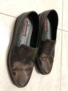 Prata Camouflage Slip on