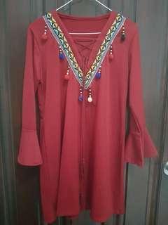 Dress Boho style