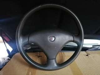 Mitsubishi steering wheel wira satria iswara saga waja