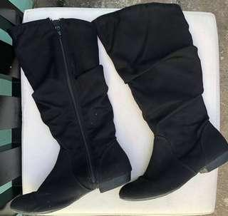 Lower East Side Black Boots
