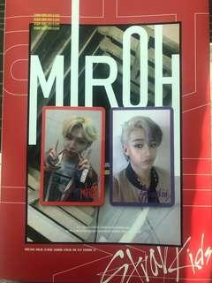 🔥WTS/WTT [REDUCED] STRAY KIDS FELIX MIROH PHOTOCARD