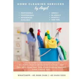 Part-Time Housekeeping / Cleaning for Home (East Coast Area)