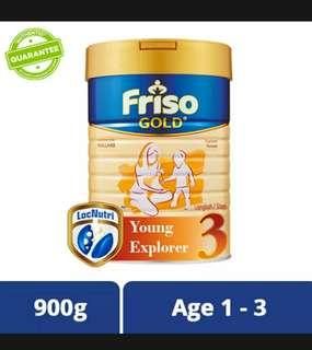 🚚 Friso Gold Stage 3 - Exp Jul 2020