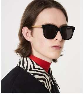 🚚 Gentle Monster Absente black sunglasses