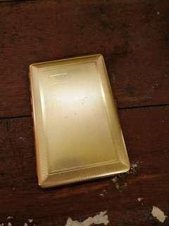 Emu Vintage gold plated cigarette case