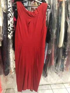 Hot red Mango dress