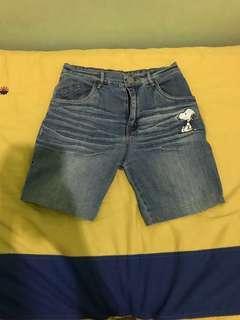 short pants (jeans)