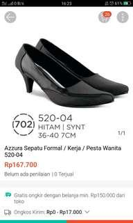 Sepatu kerja formal / hitam