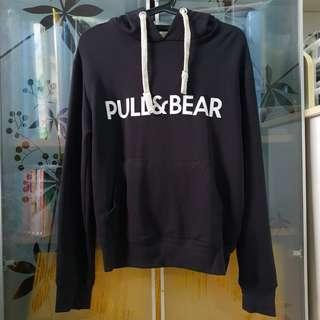 Pull&Bear Basic Black Hoodie