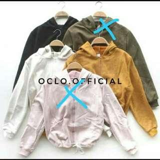 Jaket import army by oclo limited edision nego
