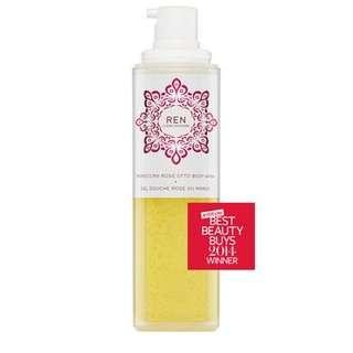 REN Morrocan Rose Otto Body Wash