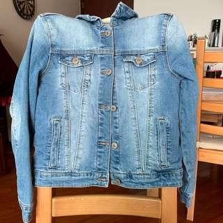 Zara denim jacket 牛仔外套