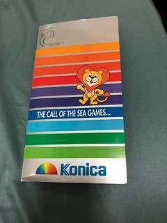 """🚚 Out of Print Vintage Konica phone cards collectible (XVII SEA GAMES 93"""" edition)"""