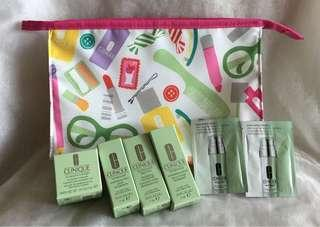 Clinique cosmetic set used  90%〜80% still have
