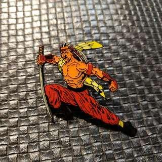 襟章  Pin 印第安人戰士