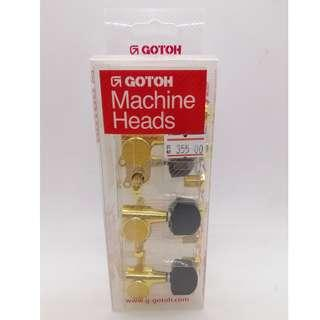 SG381 Gotoh Machine Heads (L3+R3 - Gold)