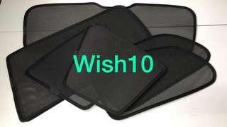 Wish10平靚正汽車窗網太陽擋🚗😍