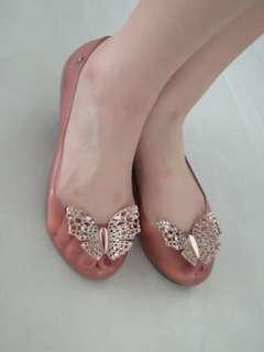 Authentic Melissa Cinderella shoes
