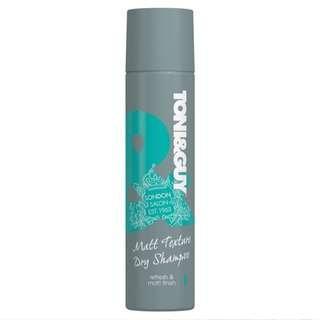 Toni & guy matt texture dry shampoo
