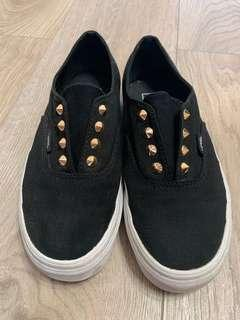 Vans Black studded Shoes